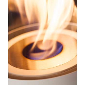 Bruciatore Circolare in Acciaio Satinato per Camino a Bioetanolo - Griff12
