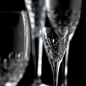 Calici da Vino Design in Cristallo da Degustazione 12 Pezzi - Titanioball