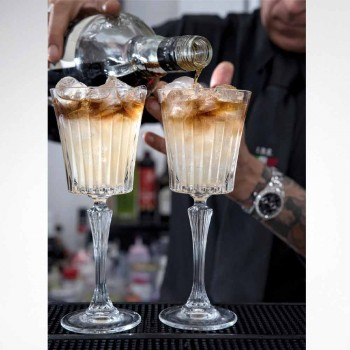 Calici da Vino e Cocktail di Lusso Design in Cristallo Eco 12 Pezzi - Senzatempo