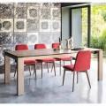 Sigma tavolo moderno allungabile fino a 220 cm in ceramica