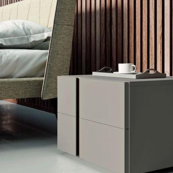 Camera da Letto a 4 Elementi Stile Moderno Made in Italy Alta Qualità - Minorco