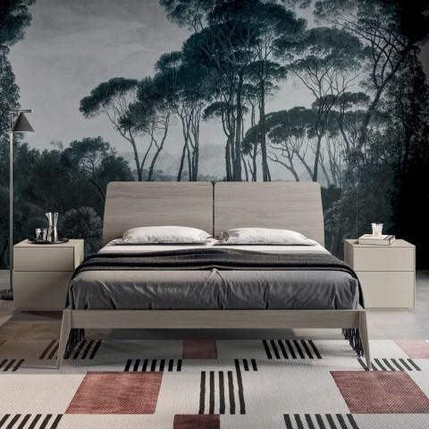 Camera da Letto Completa a 4 Elementi Made in Italy di Alta Qualità - Odema