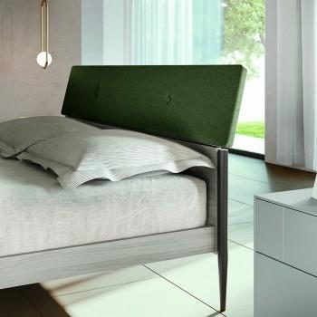 Camera da Letto Completa a 4 Elementi Moderni Made in Italy Pregiata - Verminia