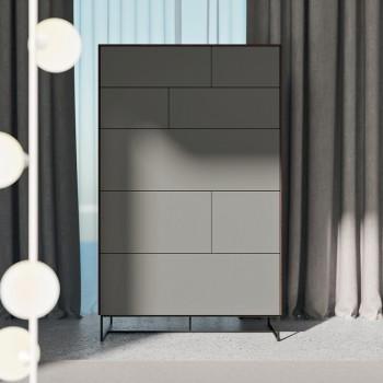 Camera da Letto Completa a 5 Elementi Moderni Realizzata in Italia - Shaila