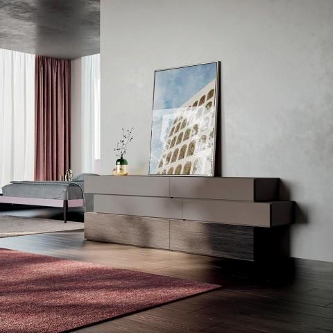 Camera da Letto Completa di Lusso a 6 Elementi Realizzata in Italia - Adige