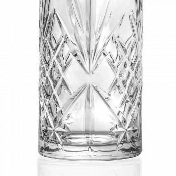 Caraffa per Acqua o Vino in Eco Cristallo Design Vintage 4 Pezzi - Cantabile