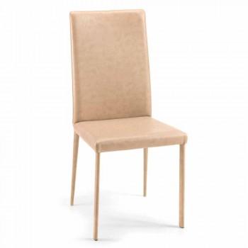 Carly sedia per sala da pranzo moderna di design fatta in Italia