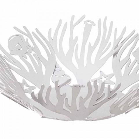 Centrotavola Design con Coralli in Ferro Pregiato Fatto a Mano in Italia - Maste