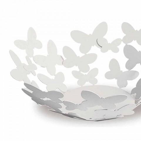 Centrotavola di Design in Ferro Bianco, Beige o Avorio Made in Italy – Leida