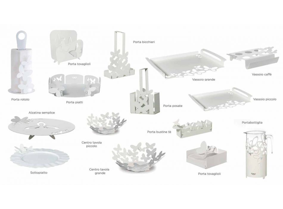 Centrotavola di Design in Ferro in Lavorato a Mano, Made in Italy – Leida