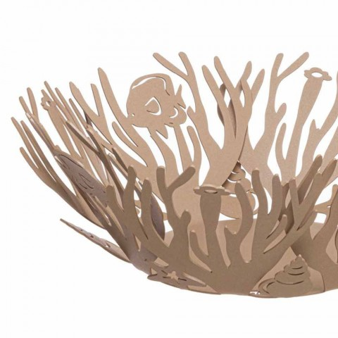 Centrotavola Grande con Coralli in Ferro Lavorato a Mano Made in Italy - Maste