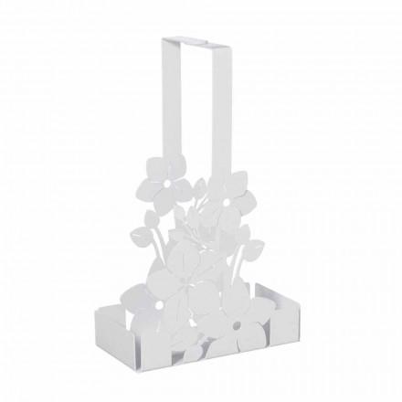 Cestello Portabicchieri Floreale di Design Moderno in Ferro Made Italy – Marken
