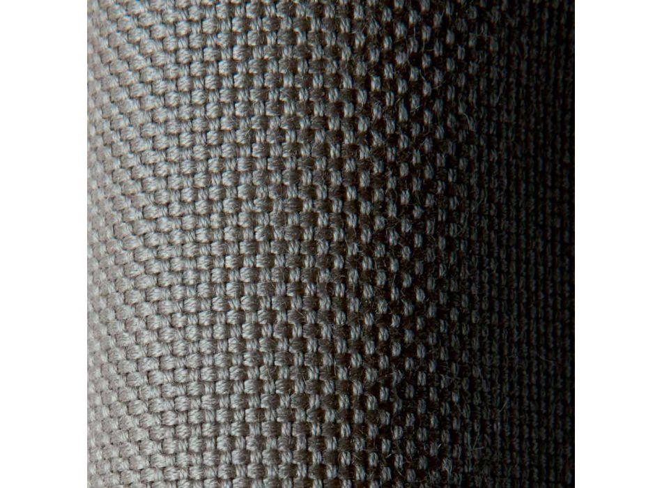 Chaise Longue da Esterno di Design in Metallo e Tessuto Made in Italy - Selia