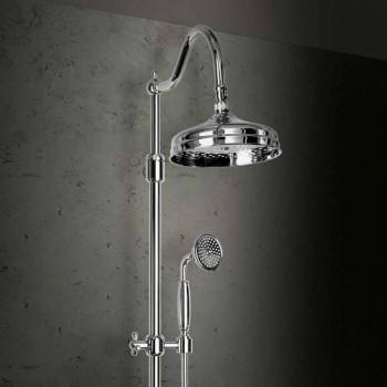 Colonna Doccia in Ottone Senza Miscelatore Design Classico Made in Italy - Yunda