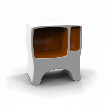 Comodino Design in Adamantx® Catodico Made in Italy