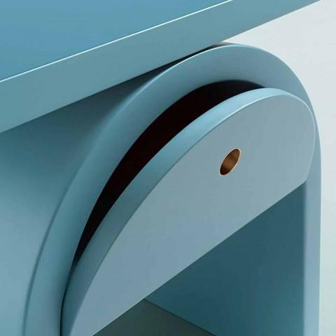 Comodino Moderno Design in Legno Colorato per la Camera da Letto - Arcom
