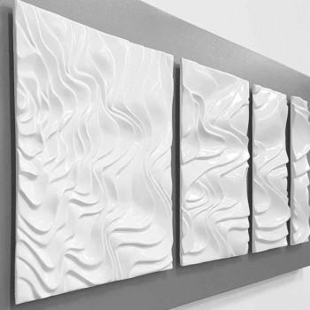 Composizione a Parete di Decoro Design in Ceramica Moderno Astratto - Verno