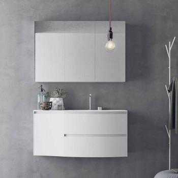 Composizione da Bagno Moderna e Sospesa di Design Made in Italy - Callisi7