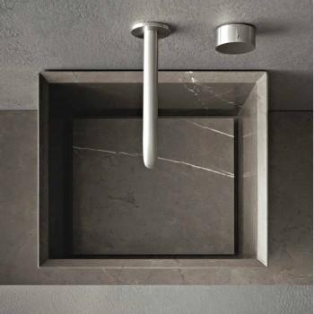 Composizione di Mobili d'Arredo da Bagno a Terra Design Moderno - Farart1