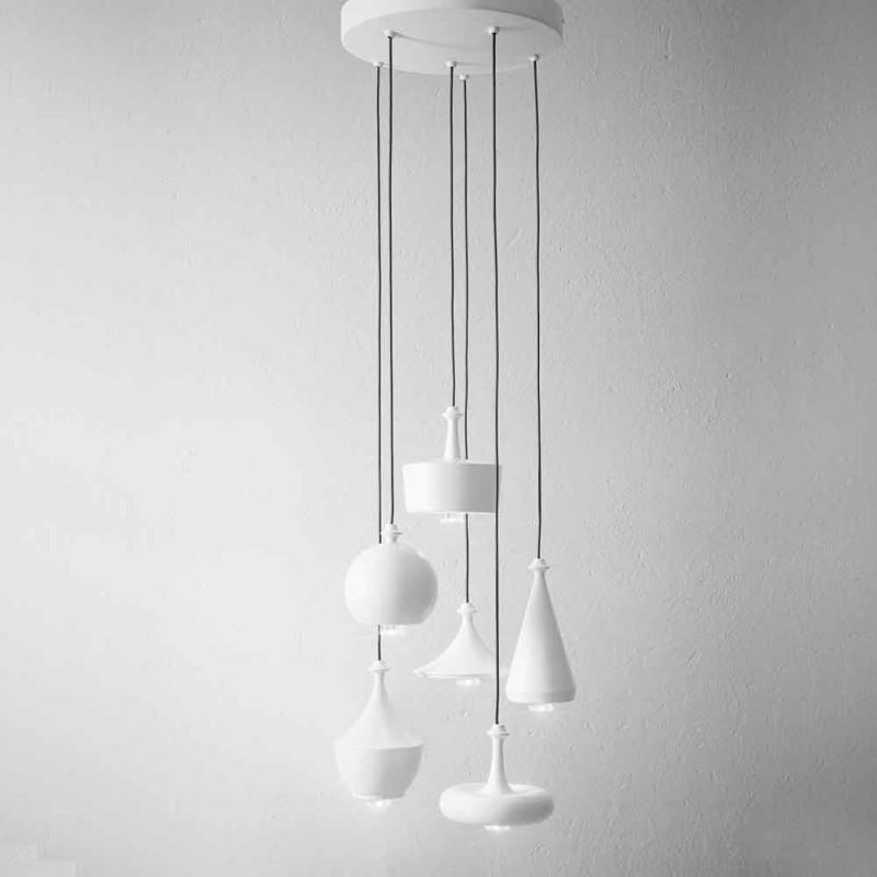 Composizione Lampade a Sospensione di Design - Lustrini Aldo Bernardi