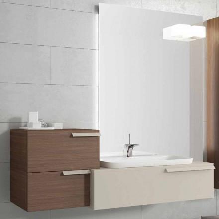 Viadurini Collezione Bagno - Composizioni con mobili bagno sospesi - Viadurini