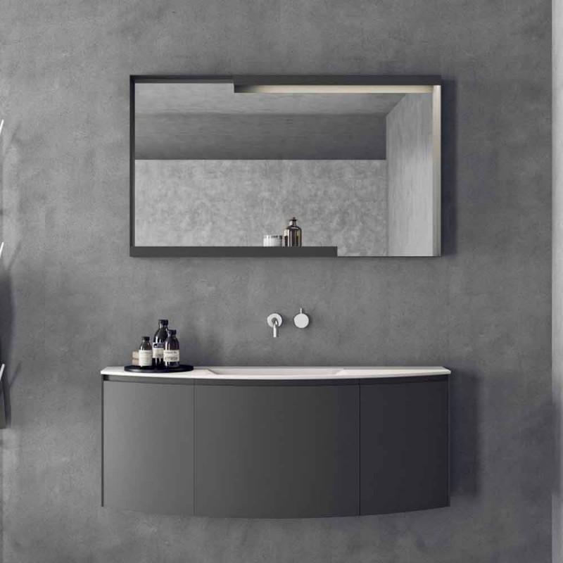 Composizione Mobili d'Arredo per il Bagno Sospesi dal Design Moderno - Callisi3
