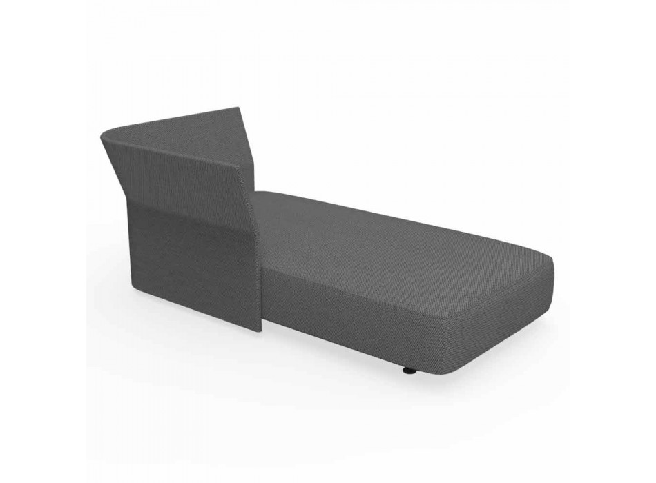 Composizione mobili da esterno moderni Cliff Talenti, design Palomba