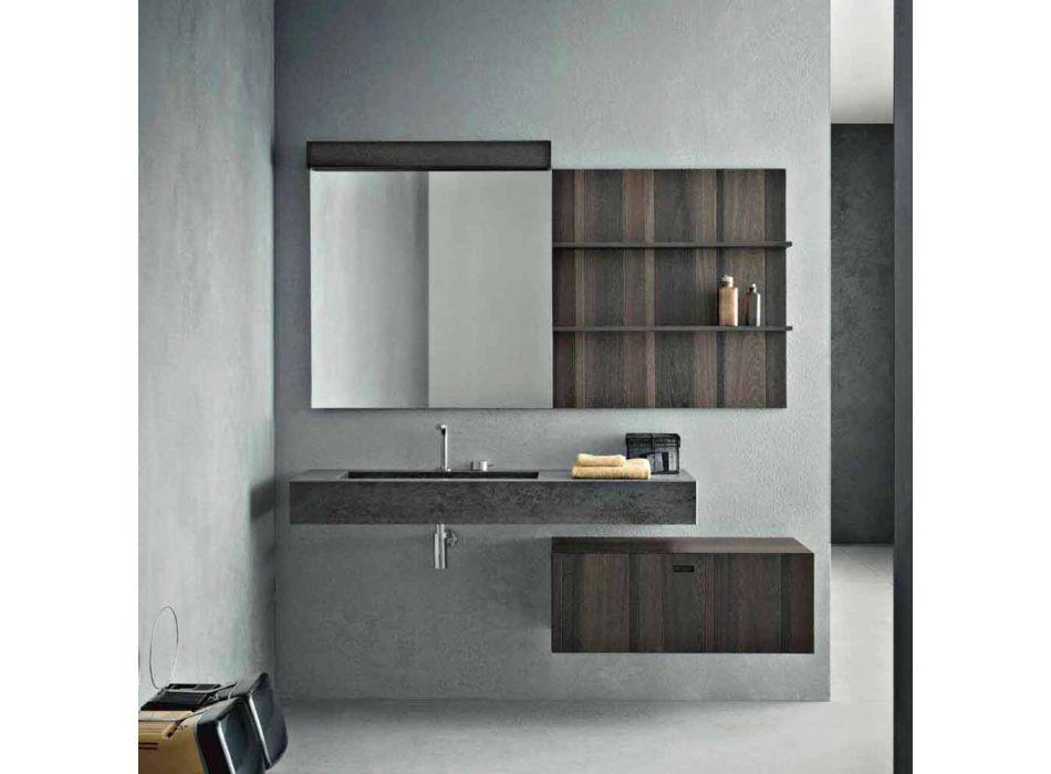 Composizione per Bagno Sospesa e dal Design Moderno Made in Italy - Farart9