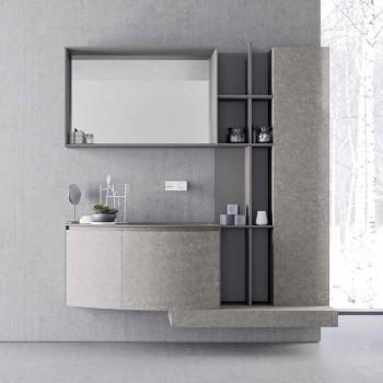 Composizione per il Bagno, Design Moderno Italiano a Sospesione - Callisi10