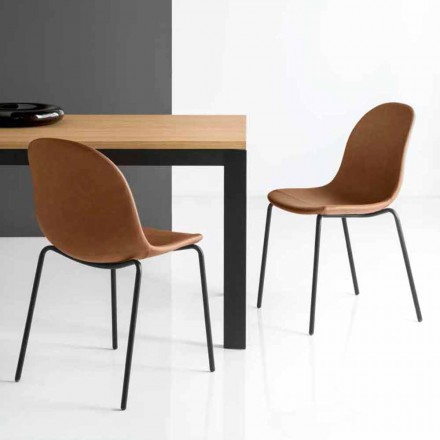 Connubia Calligaris Academy sedia vintage design Made in Italy, 2 pz
