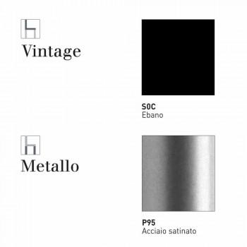 Connubia Calligaris Academy W sgabello design ecopelle vintage,2 pezzi