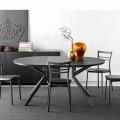 Connubia  Giove tavolo allungabile in ceramica,L120/165 cm