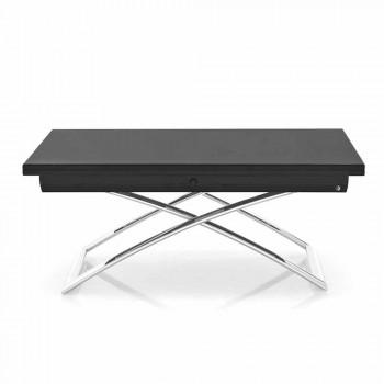 Connubia CalligarisMagic-J tavolino allungabile in vetro, L115/150cm