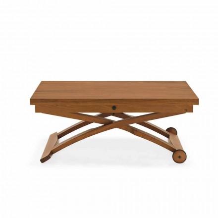 Connubia  Mascotte tavolino in legno regolabile in altezza