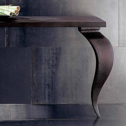 Console design moderno di lusso in legno massello, L150xP150cm,Tino