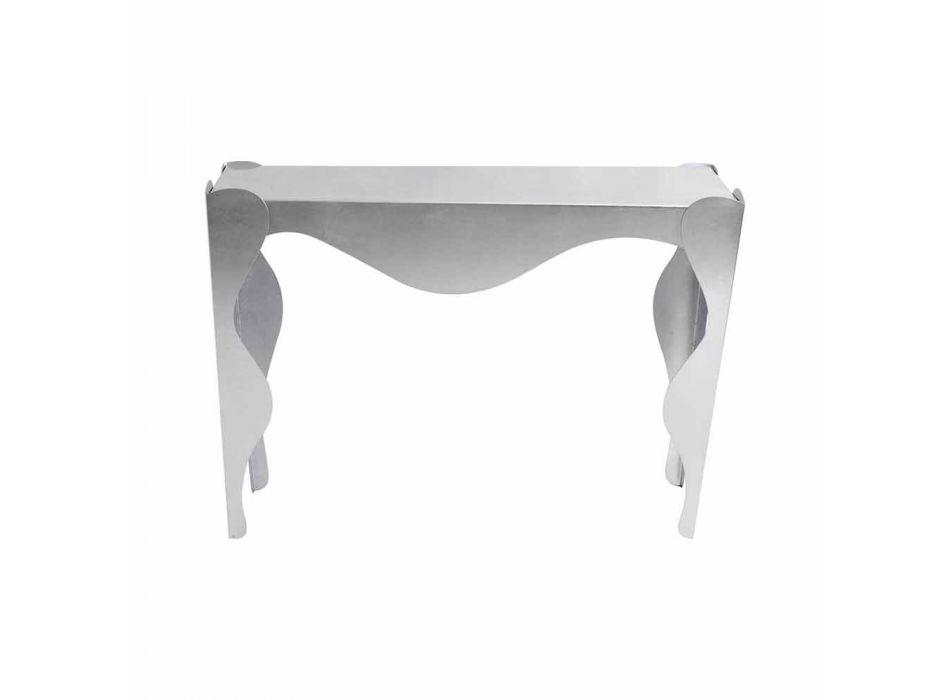 Consolle da Salotto di Design Moderno in Ferro Colorato Made in Italy – Gertrude