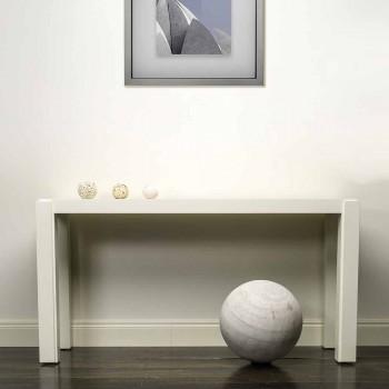Consolle design moderno in legno laccato 150x78x40 cm Felicity