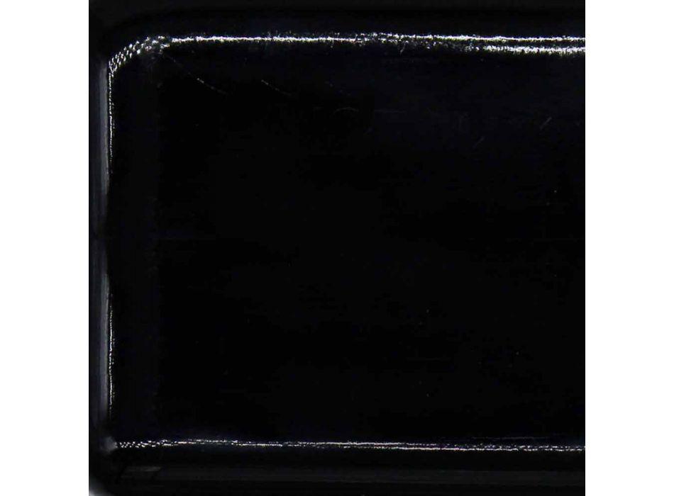 Consolle di design da parete e incasso, L60 in ceramica: Riardo