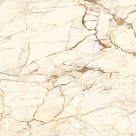 Consolle di Design in Legno con Piano in Gres Marmo Made in Italy - Oxide