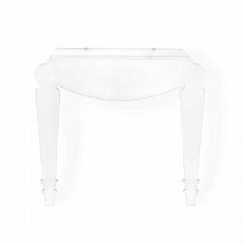 Consolle di design in plexiglass trasparente prodotta in Italia,Africo