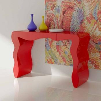Consolle di moderno design realizzata in Italia, Wow