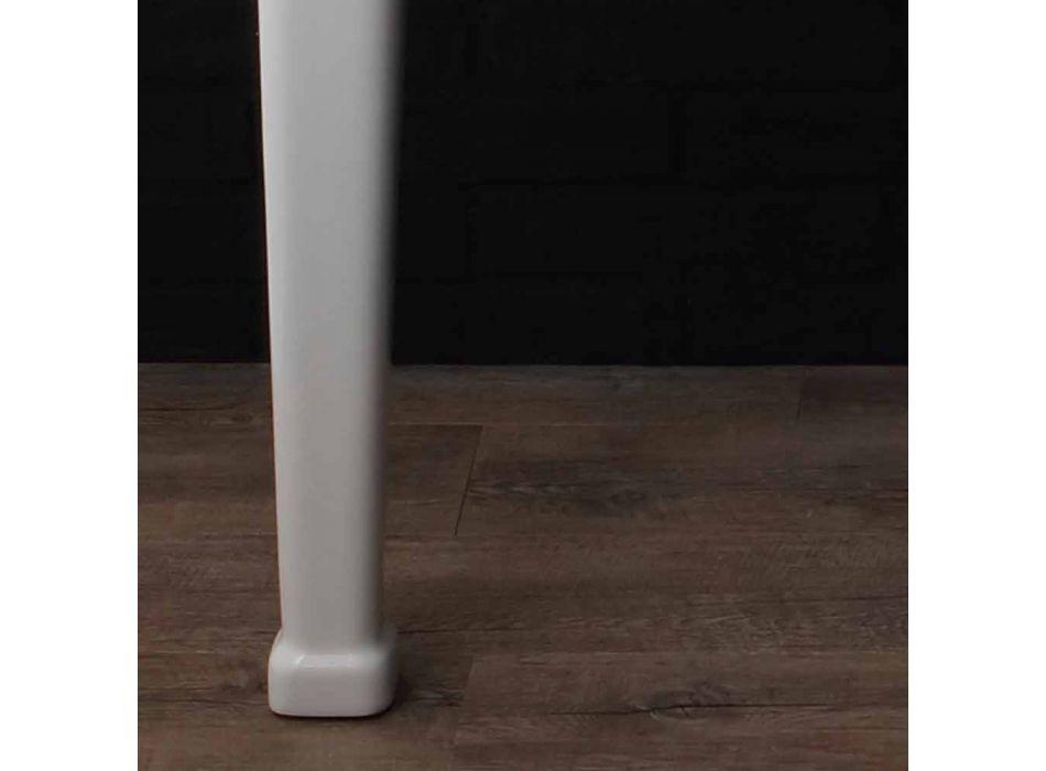 Consolle doppia su gambe in ceramica stile anni 900' Serenity