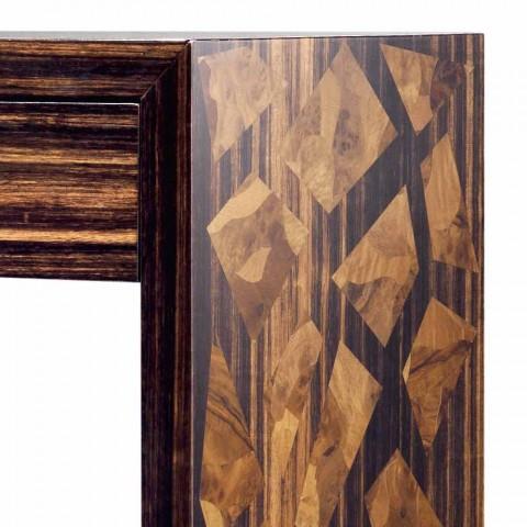 Consolle in legno di ebano moderna Grilli Zarafa made in Italy