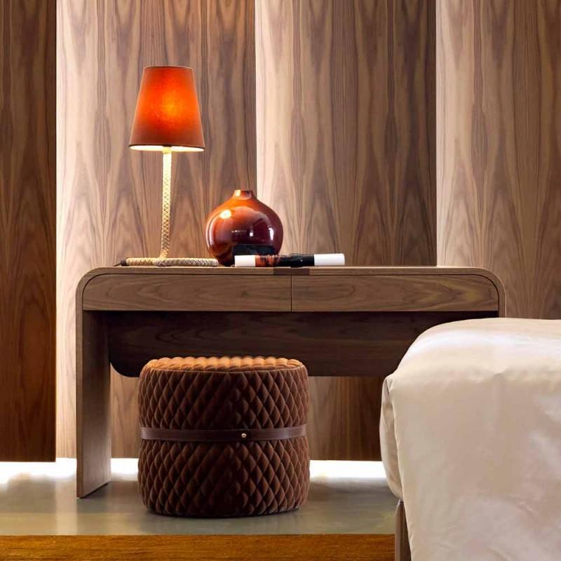 Consolle in legno massello di design Grilli York made in Italy