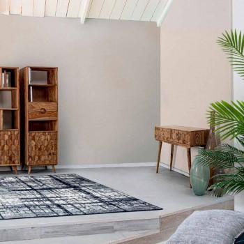 Consolle in Legno Sheesham a Due Cassetti Design di Lusso Homemotion - Fregene