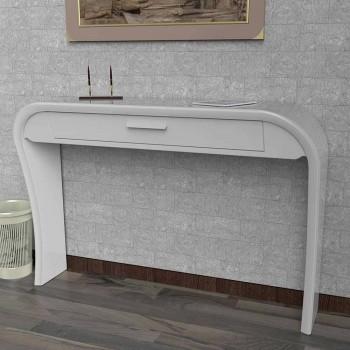 Consolle moderna con cassetto realizzata in Italia, Gambara