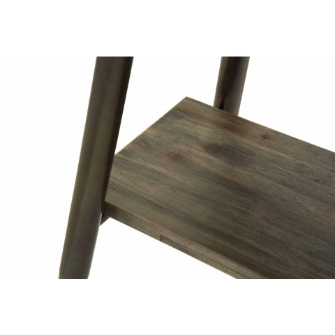Consolle Rettangolare di Design Moderno in Ferro e Legno - Marek