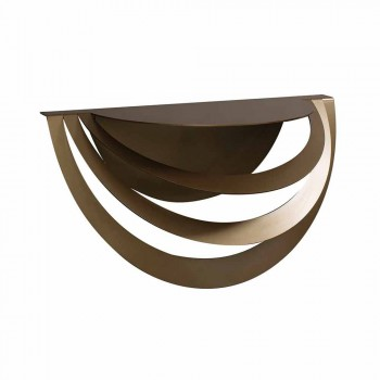 Consolle Sospesa in Ferro da Salotto di Design Moderno Made in Italy – Olfeo