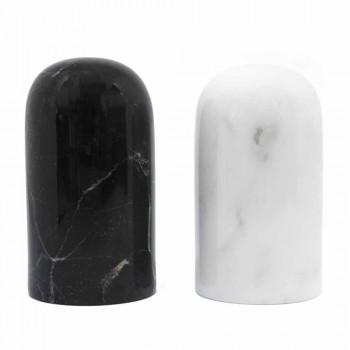 Contenitori Sale e Pepe in Marmo di Carrara e Marquinia Made in Italy - Xino