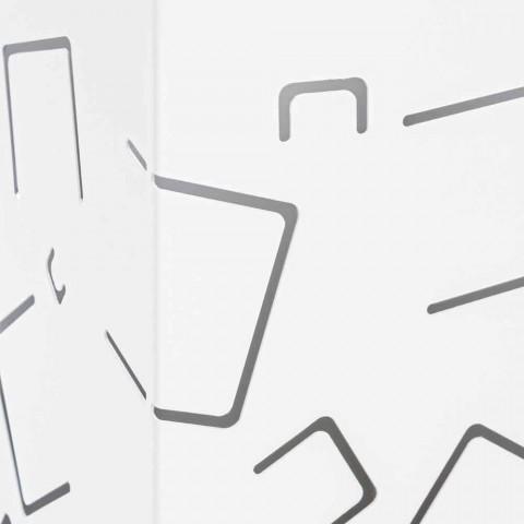 Coppia di Portaombrelli in Acciaio Verniciato Moderni Homemotion - Formio